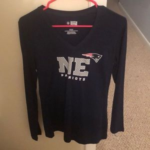 New England Patriots long sleeve